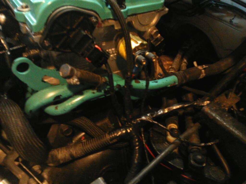srt 4 oil pressure gauge install
