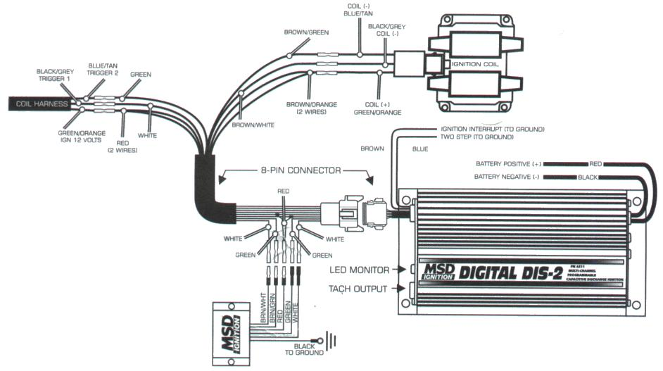 Msd 6Al Wiring Diagram Chevy – readingrat.net