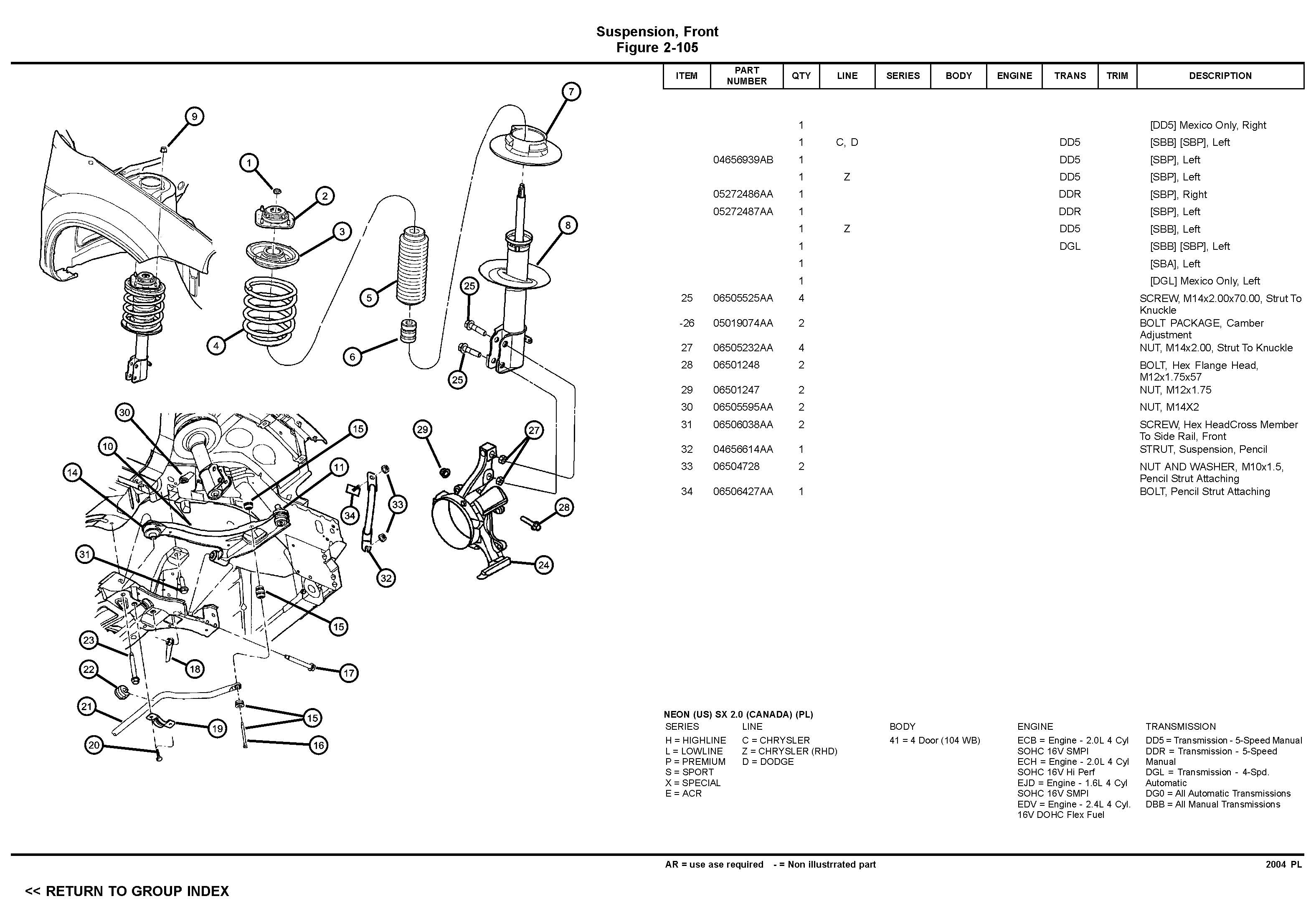 SRT4 Suspension FAQ Dodge SRT Forum – Dodge Caliber Srt 4 Engine Diagram
