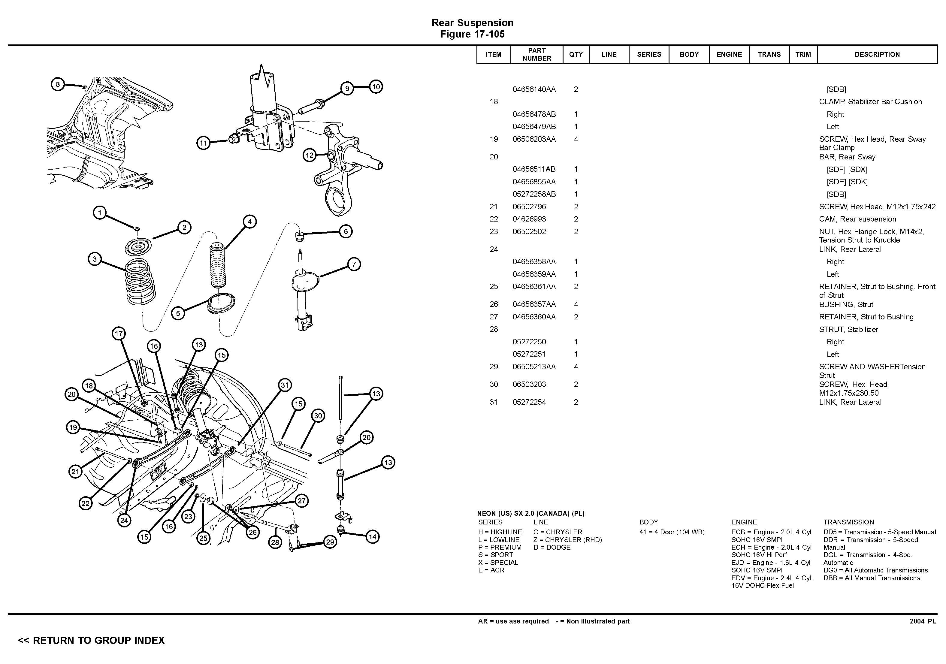 srt 4 wiring diagram