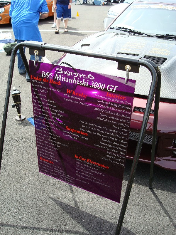 Car Show Signs Stands Dodge SRT Forum - Car show signs