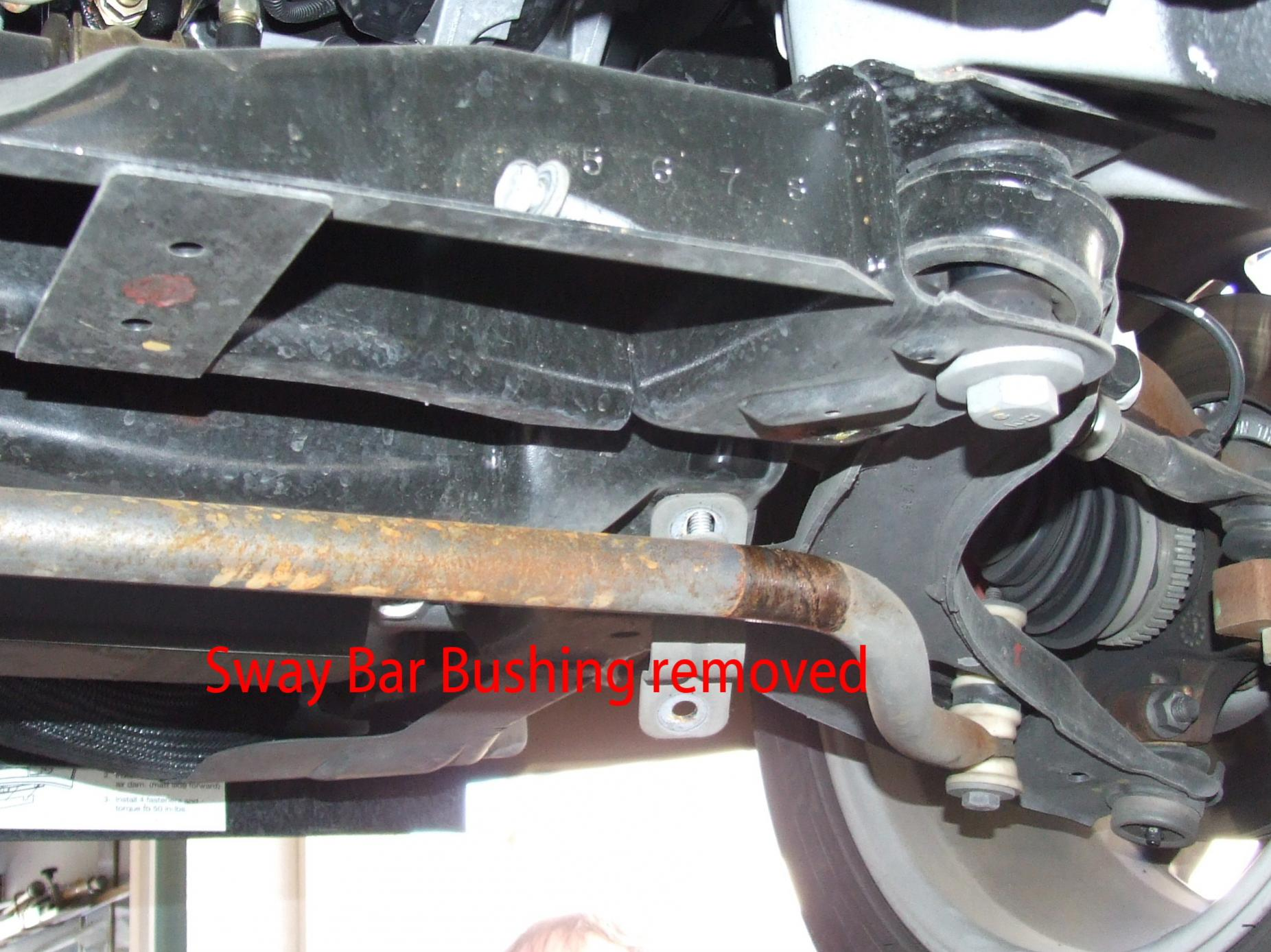 Rear End Links And Sway Bar Bushings Dodge Srt Forum