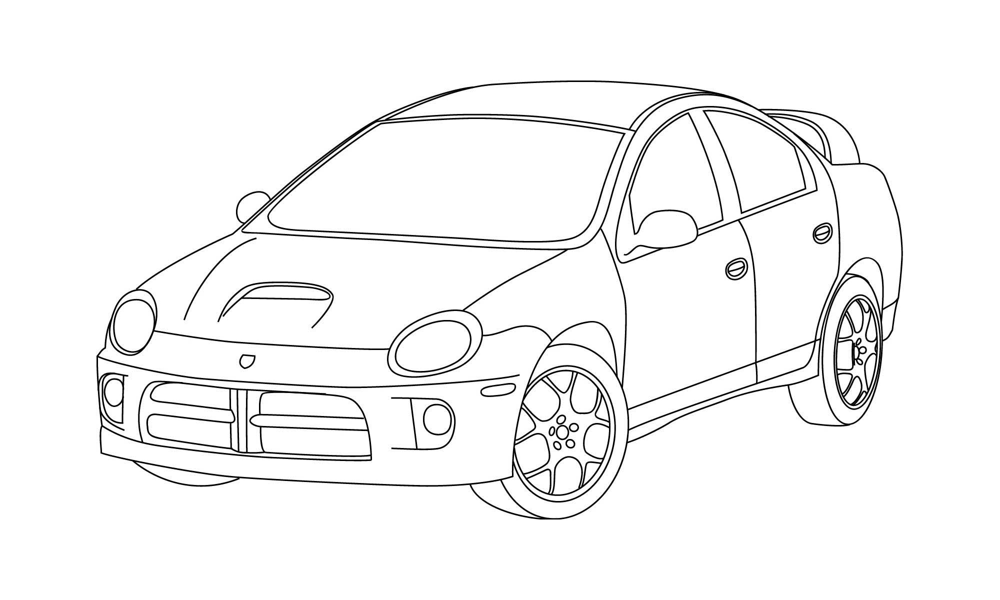 srt-4 line drawing