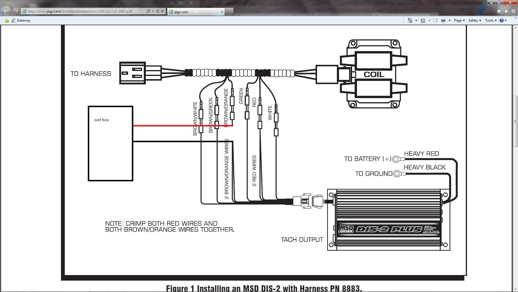 n2mb wot and msd problem dodge srt forum click image for larger version msd jpg views 1843 size 242 9