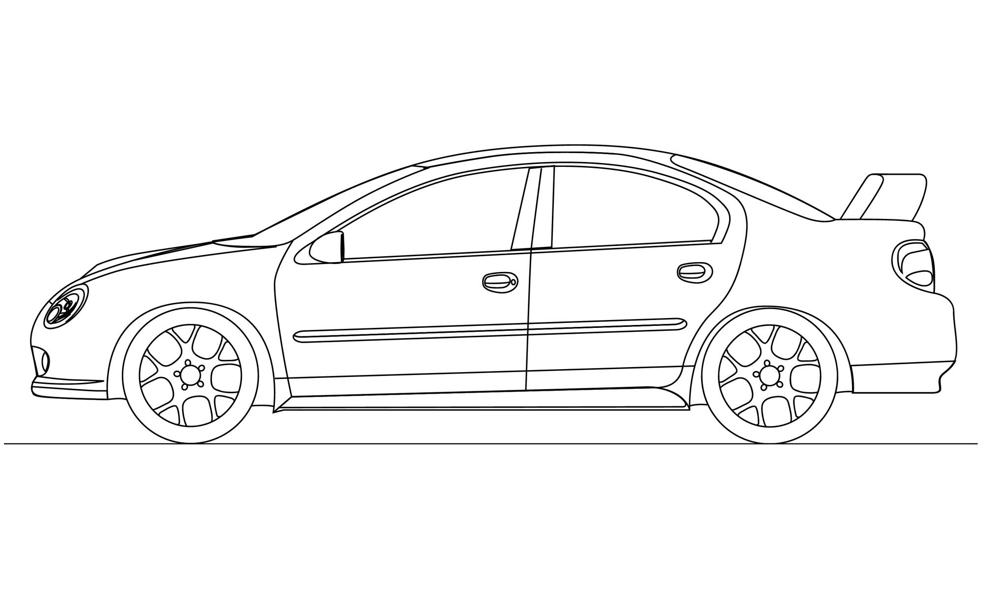 Srt 4 Line Drawing 68155 on dodge srt 4 horsepower