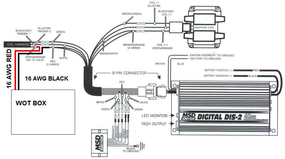 Msd Digital 7 Plus 7531 Wiring Diagram