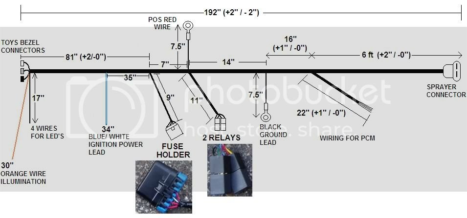 Stage 2/3 Toys harness diagram information | Dodge SRT Forum on