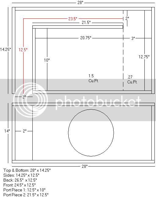 OFFICIAL* Free Ported Box Plans (56k NO!!) | Dodge SRT Forum